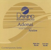 Adonai, Accompaniment CD