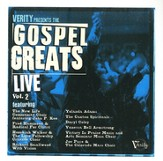 Gospel Greats Live, Volume 2 CD