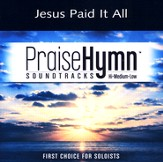 Jesus Paid It All (Low With Background Vocals) [Music Download]