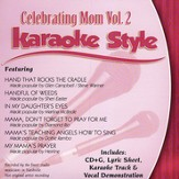 Celebrating Mom, Volume 2, Karaoke Style CD