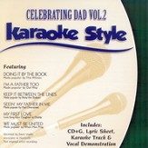 Celebrating Dad, Volume 2, Karaoke Style CD