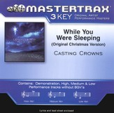 While You Were Sleeping (Original Christmas Version),  Accompaniment CD