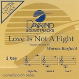 Love Is Not A Fight, Accompaniment CD