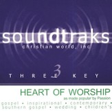 Heart Of Worship, Accompaniment CD