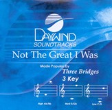 Not The Great I Was, Accompaniment CD
