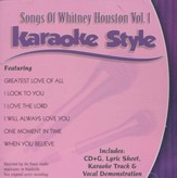 Songs of Whitney Houston, Volume 1