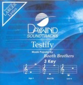 Testify, Accompaniment CD