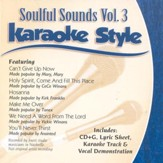 Soulful Sounds, Volume 3, Karaoke Style CD