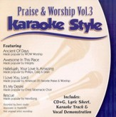 Praise & Worship, Volume 3, Karaoke Style CD