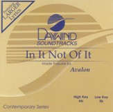 In It Not Of It, Accompaniment CD