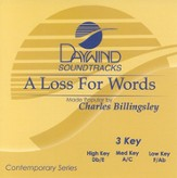 A Loss For Words, Accompaniment CD