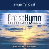Note To God - Low w/o background vocals [Music Download]