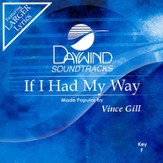 If I Had My Way, Accompaniment CD