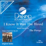 I Know It Was The Blood, Accompaniment CD