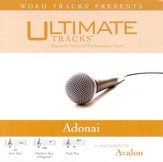 Adonai - Medium key performance track w/ background vocals [Music Download]