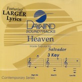 Heaven, Accompaniment CD