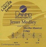 Jesus Medley, Accompaniment CD