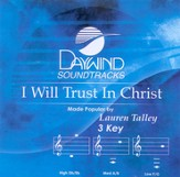 I Will Trust In Christ, Accompaniment CD