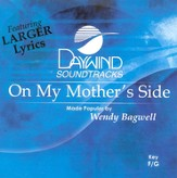 On My Mother's Side, Accompaniment CD