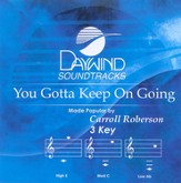 You Gotta Keep On Going, Accompaniment CD