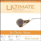 In Christ Alone - Medium key performance track w/ background vocals [Music Download]