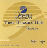 These Thousand Hills, Accompaniment CD