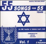 55 Songs for 55 Years Vol. 1 Music CD