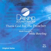 Thank God For The Preacher, Accompaniment CD