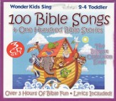 100 Bible Songs & One Hundred Bible Stories, 3 CD Set