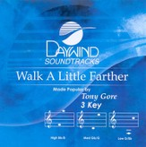 Walk A Little Farther, Accompaniment CD