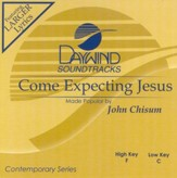 Come Expecting Jesus, Accompaniment CD