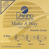 Make A Way, Accompaniment CD