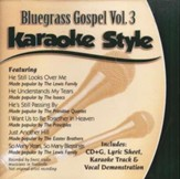 Bluegrass Gospel, Volume 3, Karaoke Style CD