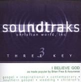 I Believe God, Accompaniment CD