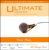 New Man (Medium Key Performance Track with Background Vocals) [Music Download]