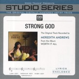 Strong God (Medium Key Performance Track Without Background Vocals) [Music Download]
