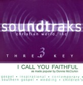 I Call You Faithful, Accompaniment CD
