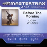 Before The Morning, Accompaniment CD