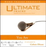 You Are (As Made Popular By Colton Dixon) [Performance Track] [Music Download]