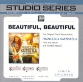 Beautiful, Beautiful - Medium Key Performance Track w/o Background Vocals [Music Download]