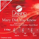 Mary Did You Know, Acc CD