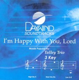I'm Happy With You, Lord, Accompaniment CD
