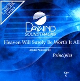 Heaven Will Surely Be Worth It All, Acc CD