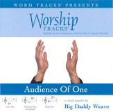 Worship Tracks - Audience Of One - as made popular by Big Daddy Weave [Performance Track] [Music Download]