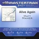 Alive Again, Accompaniment CD