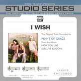 I Wish - Medium Key Performance Track w/o Background Vocals [Music Download]