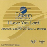 I Love You Lord, Accompaniment CD