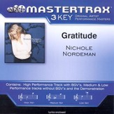Gratitude (Key-C-D-Premiere Performance Plus w/ Background Vocals) [Music Download]