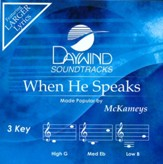 When He Speaks [Music Download]