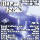 Party Tyme Karaoke: Contemporary Christian (16 Track Version) CD